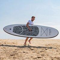 Funwater Uscaeu Warehouses Dropshipping entrega dentro de 7 dias Surfboard 305 * 76 * 15cm Sup Paddleboard Esporte de Água Inflável Surf Paddle Board Surfing