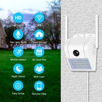 Lampada da parete 1080p Telecamera WiFi V380 160 gradi Telecamera doppia fotocamera a doppia luce Audio Telecamera IP ESTERNO AUDIO SICUREZZA HOME SECURITY CCTV Camcorder