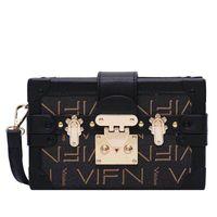 Wholesale clutch Box Handbags for women Evening Bags Excellent Quality Leather purse Fashion Brick Messenger lady Shoulder Bag