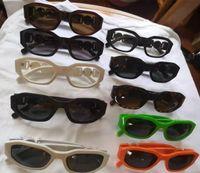 Küçük Retro Güneş Gözlüğü Erkek Kadın Perçin Leopar Çay Shades Vintage Yeni Tasarımcı Gözlük óculos UV400 10 Renkler Gafas de Sol 10 adet Hızlı Gemi Fabrika Fiyat