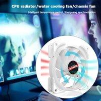 12см Вентилятор охлаждения 4PIN PWM 5V 3PIN ARGB Компьютерный ПК Охладитель радиатора Радиатор ГПУ Компьютерная Вода Охлаждающая Система Waterblock