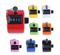 Counter 4 Digit Number Counters Plastic Shell Hand held Finger Display Manual Counting Tally Clicker Timer Points Clickers SN3053
