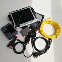 I lettori di codice Strumenti di scansione ICOM A2 + B + C con software V06 / 2021 ISTA-D 4.22 ISTA-P 3.67 nel laptop usato CF-19 e 720 GB SSD per AUTO Diagnostica