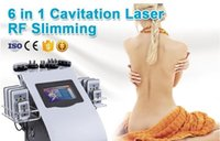 6in1 Cavitation Vacuum Multi-polar RF Photon LED Ultrasonic Skin Rejuvenation Slimming SPA Machine