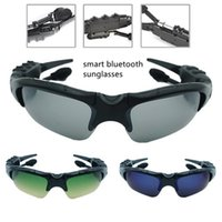 Retail Pack Desginer Smart Audio Sunglasses BT5.0 Suporte Controle de voz sem fio Bluetooth Fone de ouvido Fones de ouvido Unisex Bluetooth Óculos de sol