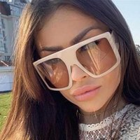 المرأة النظارات الشمسية 2021 اتجاهات الذكور 100٪ نظارات شمسية كبيرة uv400 lunnette رجل أسود عدسة الإطارات الزخرفية