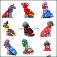 Apparel Supplies Home & Gardenwinter Halloween Costume Christmas Dogs Winter Dog Coat Pet Clothing For Small Doggy Clothes Drop Delivery 202