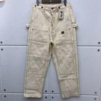 Тяжелая форма из LONA Multi-Pocket Load Black Damascus брюки женщины Kapital Multiline Men 0