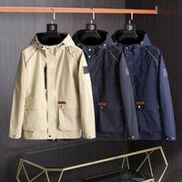 디자이너 남성용 여성 자켓 럭셔리 캐주얼 윈드 브레이커 고품질 긴 소매 자수 후드 야외 의류 지퍼 자켓