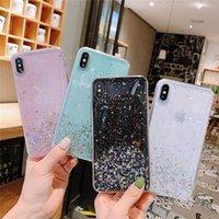 Yüksek Kaliteli Yıldız Glitter Toz Kapak Bling TPU Yumuşak Kılıf iphone 11 11Pro Max iPhone XR Dört Renk isteğe bağlı
