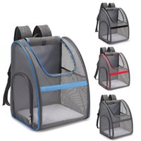 Pet Carrier Backpack Large Capacity Dogs Carrying Bag Folding Portable Outdoor Travel