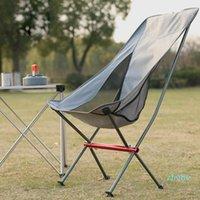 Muebles de campamento Ultraligero Silla de camping plegable al aire libre picnic Picnic Plegable Senderismo Ocio Viaje Playa Mochila Moon Pesca BBQ Accesorios