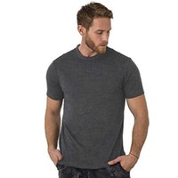 2021 100% Superfine Merino Шерсть футболки Мужской базовый слой рубашка, пролегающий дышащий быстрый сухой анти-запах со многими цветами x0726