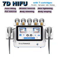 skin tightening home use machine 7D HIFU body slimming fat removal face lifting beauty equipment