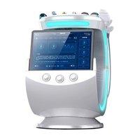 Máquina de hydrafacions hydrafacions hydrafacials da pele do Aqua do Aqua de RF do Ice Multifunction da multifuncional com sistema de análise facial