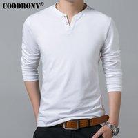 Mode tendance mode t-shirt décontracté printemps été neuf manches longues henry collier t-shirt hommes mous coton pur coton slim ajustement t-shirt vêtements vêtements hommes