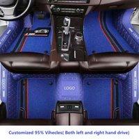 Car Floor Mat Accessories Interior ECO Material Custom Fit For Thousands Models 5 Seaters e46 e60 e39 f30 e36 f10 Audi a4 a6