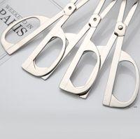 ملقط الغذاء الفولاذ المقاوم للصدأ الغذاء كليب الشواء بوفيه سلطة مقص البيض الخبز ملقط أدوات الطبخ الأدوات المطبخ البحر EWC6241