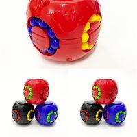 Spinner Magia Quebra-cabeça Bola Fidget Bundle Bundle Estresse Bola Feijão Anti Stress e Ansiedade Relevo Decompression Brinquedos para Adultos Crianças H34IX6K
