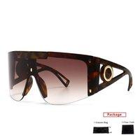 النظارات الشمسية mimiyou المتضخم windproof المرأة واضح الرجال نظارات إطار العلامة التجارية desginer uv400 نظارات الظلال oculos