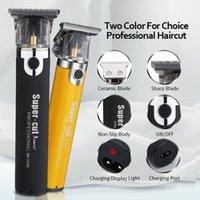 Nouveau Resuxi JM-700B Barber Shop Shop Tilleur électrique Machine professionnelle Machine à cheveux Beard Tondeuse rechargeable Outil sans fil Hight Qualité