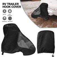 Parts Caravan Hitch Cover Waterproof Trailer Rain Snow Dust Protector Dustproof For RV Tailer Accessories