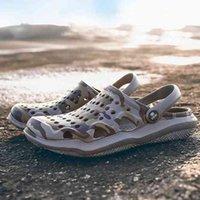 2020 Summer New Men's Sandals EVA Lightweight Beach Slippers Non-slip Mule Men Women Garden Clog Shoes Casual Flip Flops 36Jd#_bar