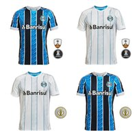 20-21 New Gremio Gemel Camicia da calcio da uomo New Kannemann Luan Azevedo Evrton Stadium Blue Blue Sportswear 2021 Club T-shirt da calcio