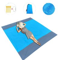 Outdoor Pads 2*2M Portable Picnic Mat Waterproof Beach Blanket Pocket Camping Tent Ground Mattress Sleeping For 6 Adults