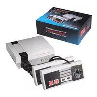 Mini TV Video Retro Klasik 620 Oyunlar El Protable Oyun Konsolu NES FC Oyun Playrs AV Kablosu ve Perakende Kutusu ile