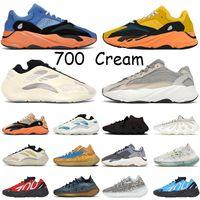 zapatos tenis 3M STATIC RUNNER zapatillas hombre mujer Boost 700 v2 Running Shoes For Womens Mens Azael Alvah Alien Mist Vanta Luxury Designer Sneakers Size 46