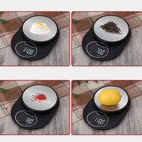 NEWStainless Steel Digital Electronics Scale Household Led Kitchen Mini Baking Food Scales Precise Portable Kitchens Hotel Supplies GWD11005