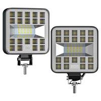 Working Light Mini 29 LED 87W 69W Work Bar Square Spotlight 12V 24V Offroad Lamp For Truck Illumination 4X4 4WD Car SUV ATV Auto