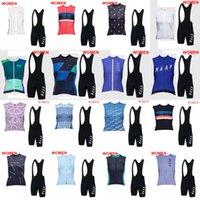 Lady Yaz Maap Nefes Bisiklet Kolsuz Jersey Yelek Önlüğü Şort Set Bisiklet Giyim MTB Hızlı Kuru Sportwear Sıcak Satış P62230