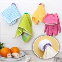 Toalhas de banheiro Suspensão do Organizador Organizador de Cozinha Pad Hand Towel Racks Lavar Clipe de Pano de Relaxe Rack de Armazenamento EEB5432