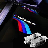 BMW F30 F36 F10 F80 /// M 성능 자동차 도어 램프 Ghost Shadow 밝은 레이저 프로젝터 단계 경고등