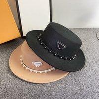 أعلى قبعة شعرت كاب المرأة رجل المجهزة الفاخرة مثلث إلكتروني ص أزياء قبعات مصمم قبعة صغيرة القبعات القبعات casquette دلو دلو قبعة D208302HL