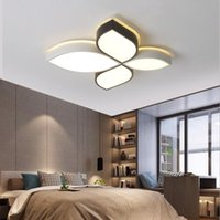 Tavan Işıkları LED Nordic Yatak Odası Lamba Yaratıcı Yonca Çocuk Odası Modern Minimalist Tatami Master