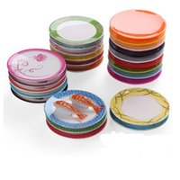 Pan Dinner plate Food Sushi Melamine Dish Rotary Sushi Plate Round Colorful Conveyor Belt Sushi Serving Plates Dinnerware DH8575