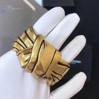 Bracelet Vintage Gold Couleur Bowknot Design Bijoux Broacelet Big Marque Mode