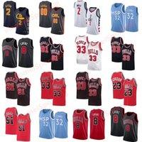 Collin 2 Sexton Баскетбол Джерси Мужская город Джон 2 Стена Карл-Энтони 32 Города Зач 8 Лавин Скотти 33 Пиппенская рубашка