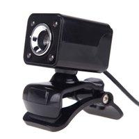 Web-камера USB 2.0 HD WebCam Web Cam с MIC для компьютерного ПК Desktop Autofocus Встроенный штативные веб-камеры для ноутбука