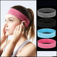 Safety Athletic Outdoor As & Outdoorselastic Sweatband Sports Gym Headband Anti-Slip Women Men Breathable Basketball Fitness Yoga Volleyball