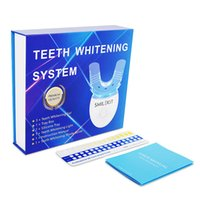 Teeth Whitening Led Kit With 3x3ml Tooth Bleaching Gel Private Label Whitener Effective Use At Home 60sets