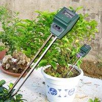 جديد وصول 3 في 1 درجة حرجة الفاحص التربة كاشف المياه الرطوبة الرطوبة ضوء اختبار متر الاستشعار ل حديقة النبات زهرة BWA4216