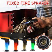 Butane Jet Torch Cigarette Windproof Lighter Plastic Fire Ignition Burner NO GAS CA Gas Turbo Dropship Suppliers H0916