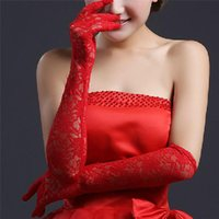 Bridal Gloves Tulle Lace Barato Elbow Length Matched Wedding Dress Bruid Noiva Accessories For Women