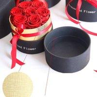Eterno Rose en caja conservada Real Rose Flowers con caja de caja Romántico Día de San Valentín Regalo El mejor regalo del Día de la Madre