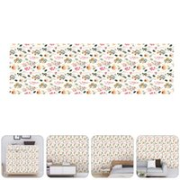 Wallpapers 1 Set Flower Style Wallpaper Living Room Bedroom Seamless Wall Stickers