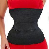 AICONL Taille Trainer Shaperwear Femmes Minceur Tummy Wrap Bande Résistance Bandes Cincher Corps Shaper Fajas Sangle de contrôle